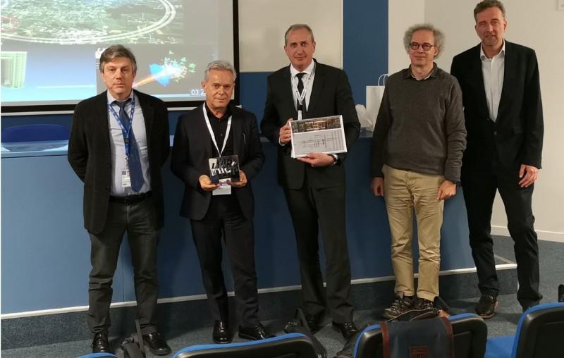 SOMACIS receives LHCb Industry Award at CERN